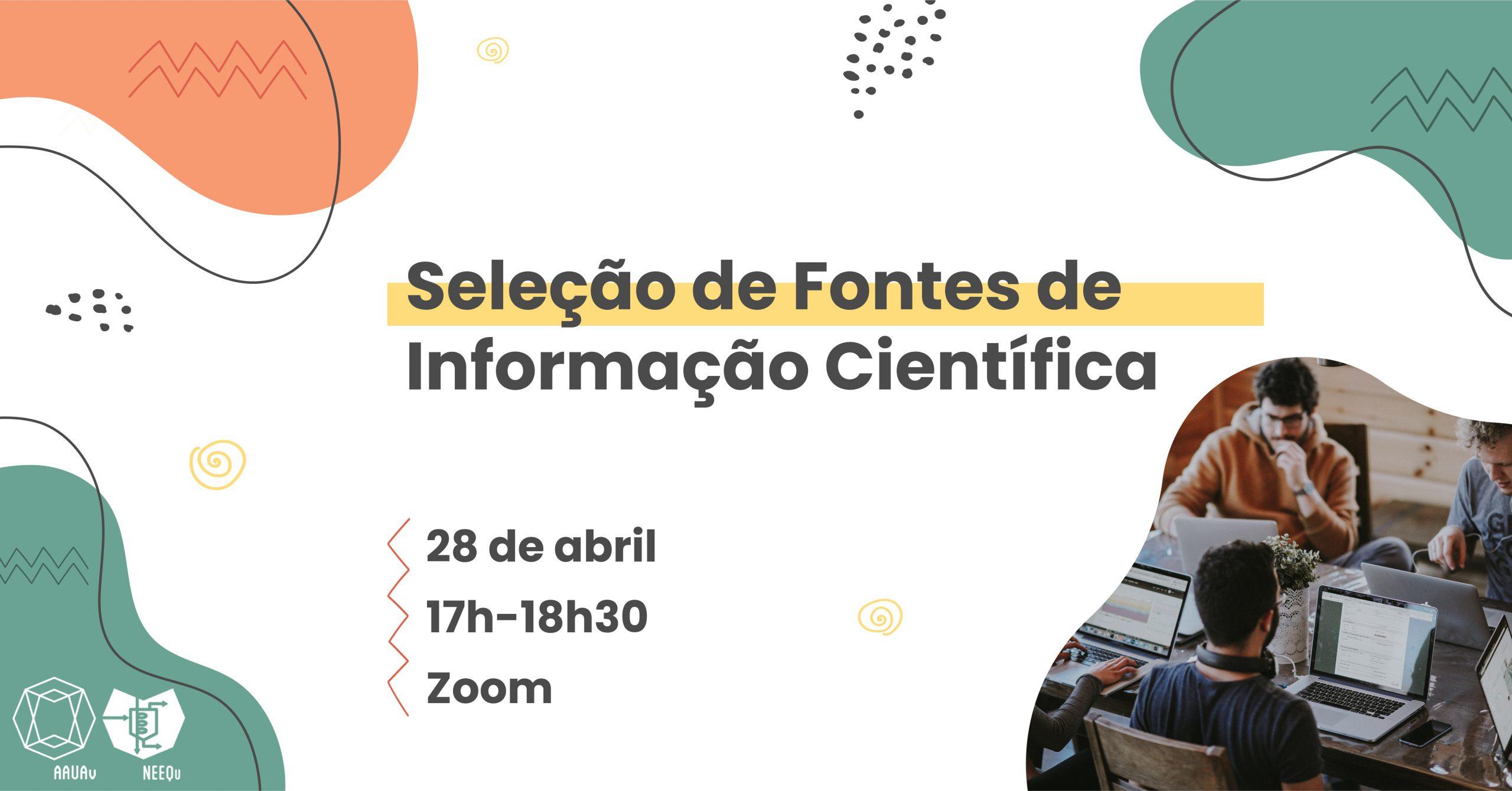 Read more about the article Workshop | Seleção de Fontes de Informação Científica